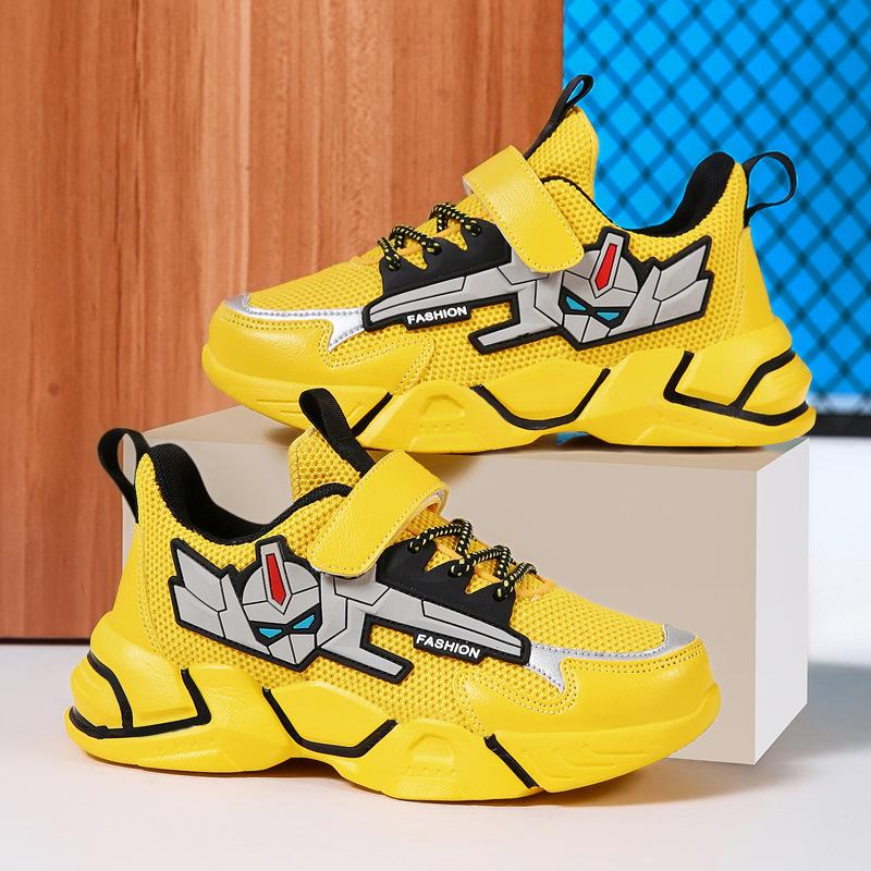 2021春季中大童男孩运动鞋男童鞋子网面透气小学生旅游鞋儿童球鞋