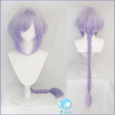 taobao agent Otaku exclusive original god cos seven or seven gradient color cosplay wig frozen back to the soul night