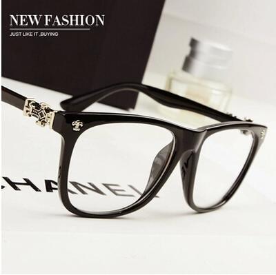 Retro Cận Thị Xue Zhiqian với kính kính cho nam giới và phụ nữ bức xạ thủy triều gương phẳng có thể được trang bị với kính cận thị khung