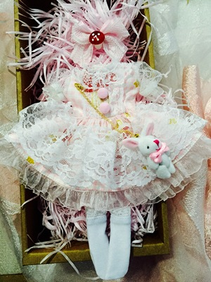 taobao agent Spot 2 sets of shipping 4 points dress bjd doll clothes big 6 points set of yosd small mushroom giant baby cloth holala