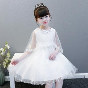 新款春夏花童礼服女儿童礼服公主裙