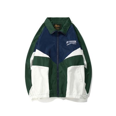 Châu âu và Hoa Kỳ đường phố hip hop hiphop phần mỏng áo khoác những người yêu thích TÌNH YÊU lỏng áo khoác áo khoác áo gió nam giới và phụ nữ Áo gió