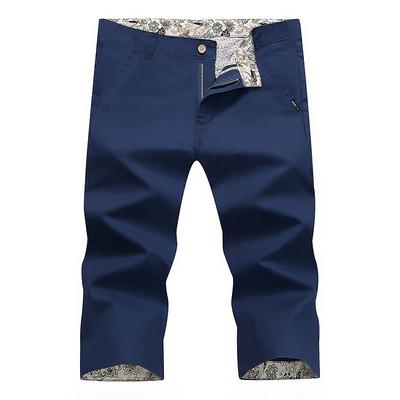 Mùa hè người đàn ông mới của cắt quần nam quần short quần âu Hàn Quốc phiên bản của tự trồng rửa 7 quần cotton quần