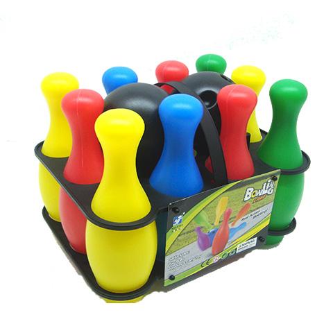 Trẻ em tập thể dục thể thao đồ chơi trẻ em phim hoạt hình câu đố bowling đồ chơi thiết lập cha mẹ và con trò chơi đồ chơi bowling