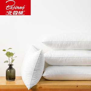 北极绒正品枕芯枕头单人羽丝绒枕