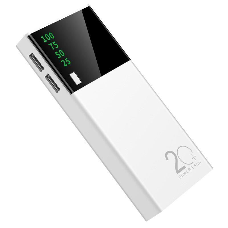 充电宝便携液晶显示屏通用移动电源