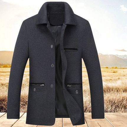冬装外套装中老年人棉衣服加绒加厚