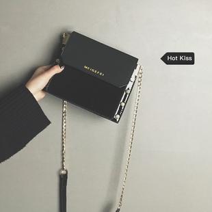 【网红小包】时尚百搭漆皮小方包