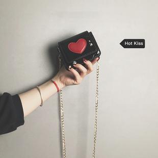 【网红小黑包】迷你单肩包洋气少女斜挎包