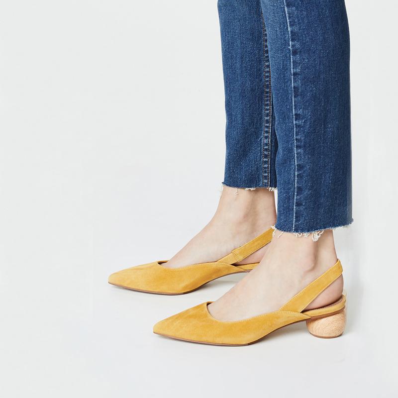 鞋子女2018新款夏季中跟凉鞋