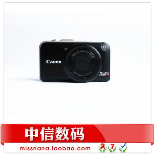 Máy ảnh kỹ thuật số tele nhỏ 14 lần tại nhà Canon Canon PowerShot SX230 HS chính hãng - Máy ảnh kĩ thuật số