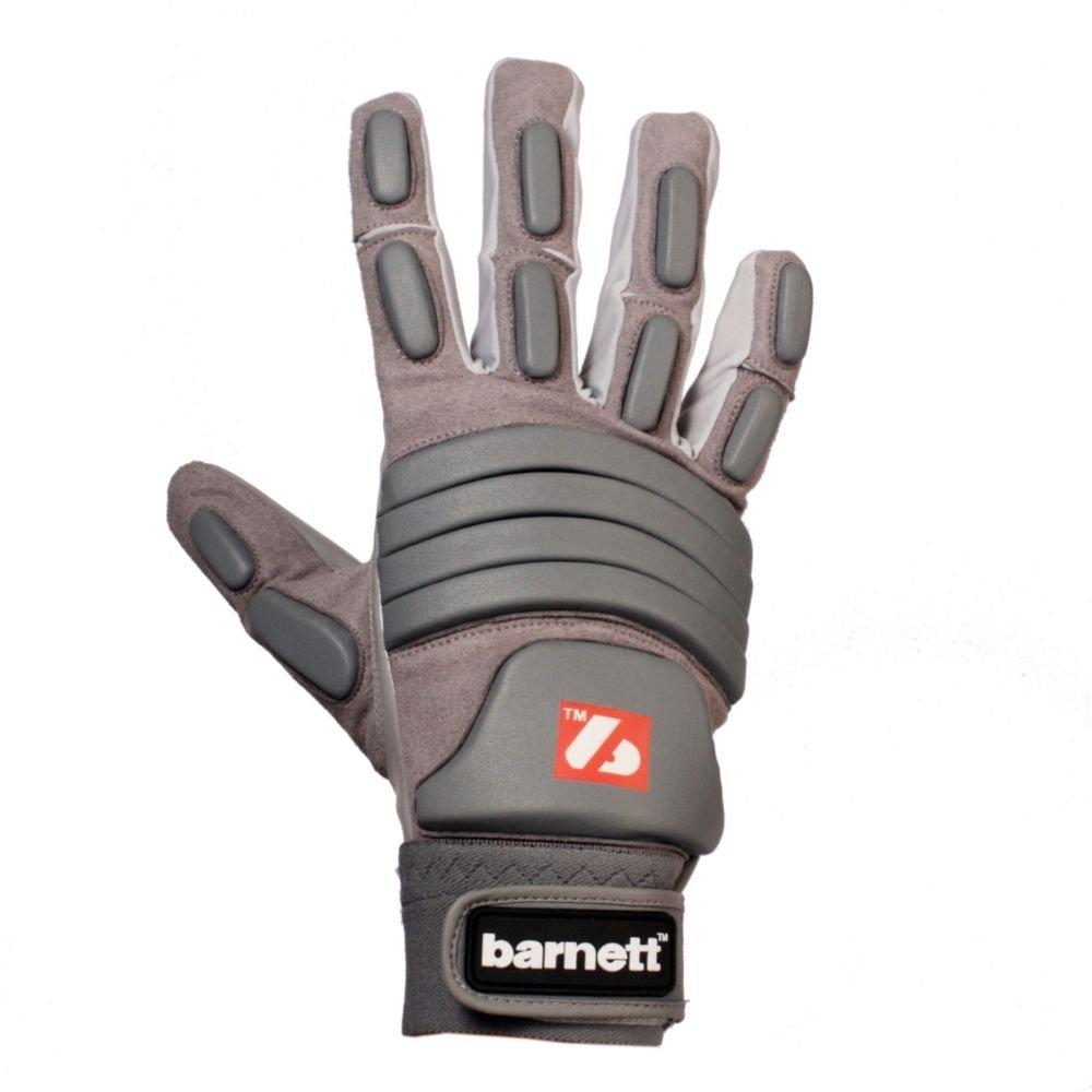 Găng tay Găng tay bóng bầu dục Barnett Găng tay Runner xám Găng tay cao su chất lượng cao