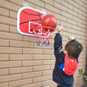 免打孔挂式篮球架儿童篮球框家用宝宝室内投篮玩具宿舍壁挂篮筐