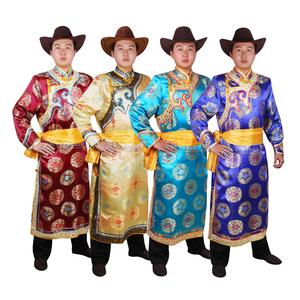 Của nam giới Mông Cổ Gown Mông Cổ Mông Cổ Trang Phục Múa Mông Cổ Wedding Dresses Dân Tộc Trang Phục Nam Giới