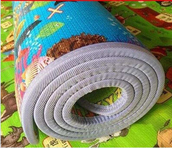 Toddler kids marine bò thảm trẻ em tập thể dục miếng bọt biển nhỏ mat phòng ngủ phòng không trượt vô vị có thể được lưu trữ để trèo lên