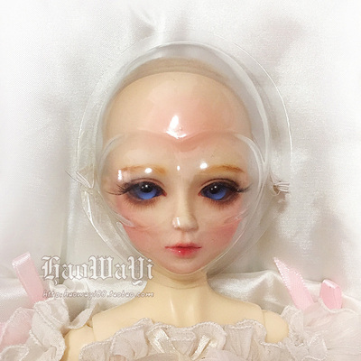 taobao agent Bjd baby face mask doll face mask bump man Ultraman anti-pressure eyelashes uncle big girl 3 points 4 points 6 points