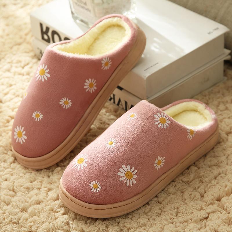 【统一价】男女情侣款棉拖鞋
