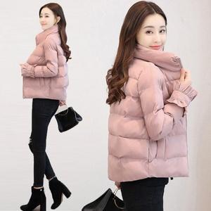 38外套女2019新款冬季短款加厚棉袄修身学生羽绒棉服面包服棉衣潮