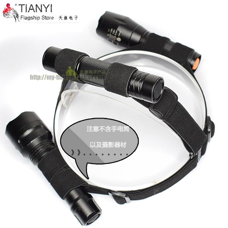Head-mounted chiếu sáng stretch chất liệu vải đàn hồi đèn pha với đèn pin head lamp head với ngoài trời cưỡi phụ kiện chiếu sáng