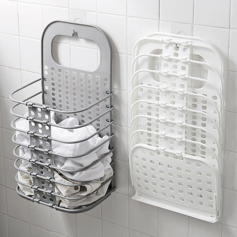 脏衣服收纳篮大号壁挂折叠脏衣篮卫生间放换洗脏衣服收纳筐脏衣篓