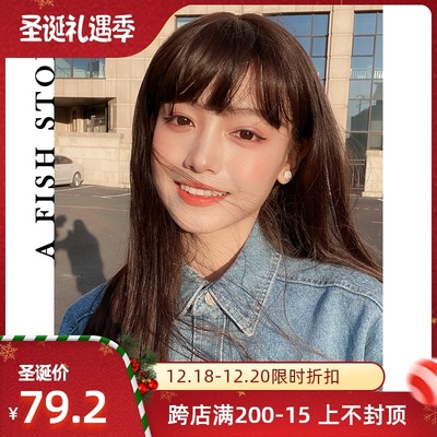 taobao agent 【Spring Overture】Yujia*new wig long style natural daily Japanese and Korean internal buckle spot