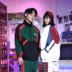 Áo khoác nam triều thương hiệu lỏng hiphop hip hop áo Hàn Quốc phiên bản của xu hướng của mùa xuân và mùa thu màu mỏng phù hợp với áo thể thao người đàn ông Áo gió