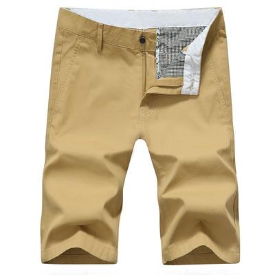 Quần short nam mùa hè năm quần lỏng cotton feet kích thước lớn quần mùa hè kinh doanh bảy điểm quần boutique quần triều