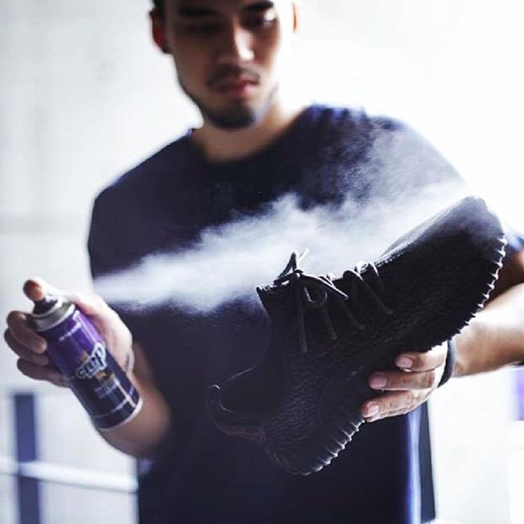 Người anh nhập khẩu Crep Bảo Vệ giày trắng sneakers chăm sóc tạo tác không thấm nước chống bụi chống gỉ phun giày đánh bóng
