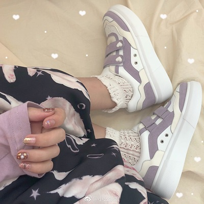 taobao agent 【Shipment within 3 days from stock】Dream Bibab Star Crown Original Genuine Lolita Running Shoes Sneakers