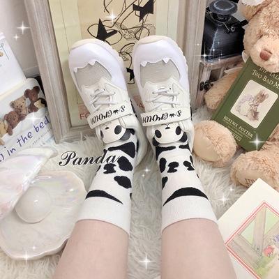 taobao agent 【Spot goods】Cat sweetheart/Pangda sweetheart lolita sneakers lo running star crown