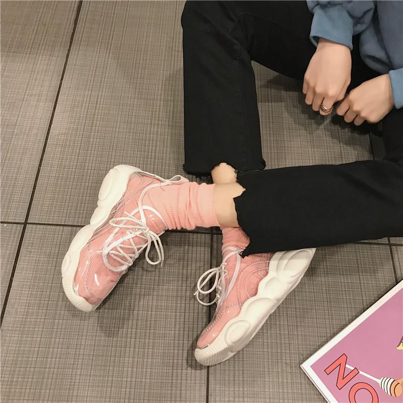 抖音同款鞋:透明球鞋