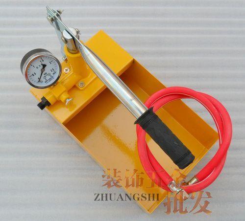 Thượng Hải Quốc tế Phần cứng cơ điện Thành phố Máy bơm thử áp suất đặc biệt * Bơm thử áp suất bằng tay Bơm thử ống PPR