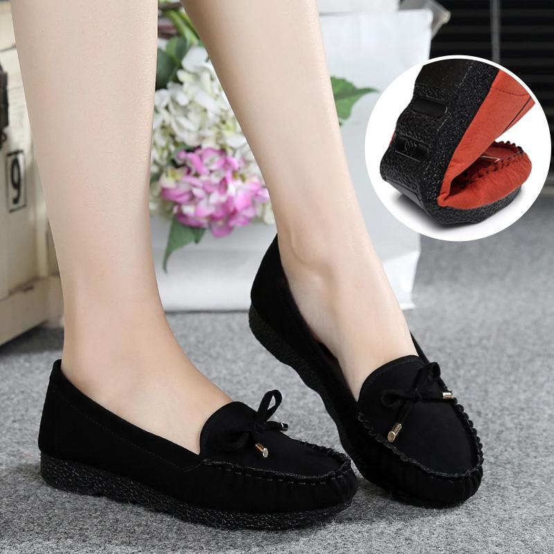 春夏老北京布鞋女鞋平跟平底单鞋休闲