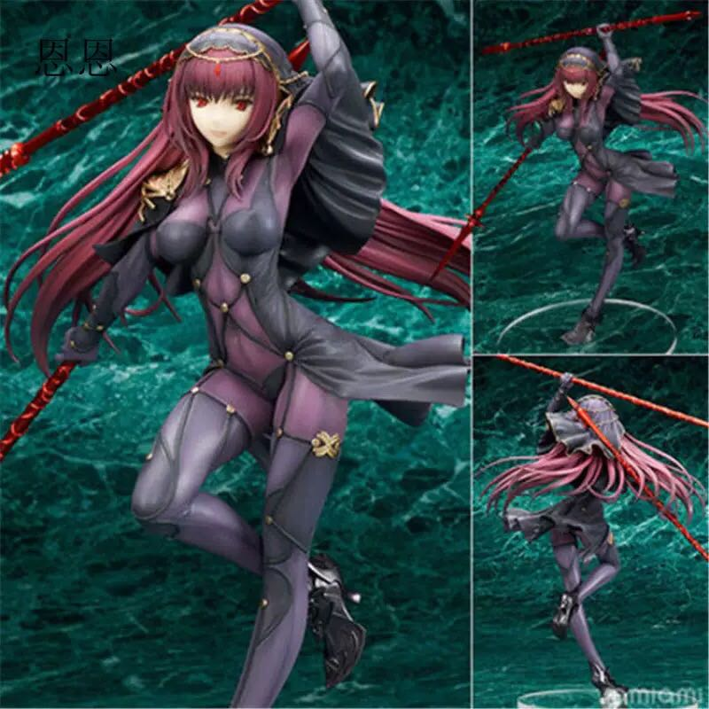 Details about Anime Fate/Grand Order FGO Lancer Scathach 1/7 Scale PVC  Figure Toy New No Box
