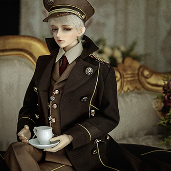 taobao agent BJD doll, ASDOLL clothes, 70+ male Huaxi military uniform suit-Cheng Miao, CL1180710