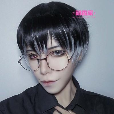 taobao agent Moe Xiangjia Tokyo Ghoul/Ghoul Sasaki Keiyo/Kinkiken Silver Gradient Cosplay Wig