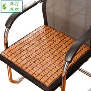 夏季麻将凉席坐垫学生电脑椅竹垫夏天防滑海绵汽车办公室座垫21