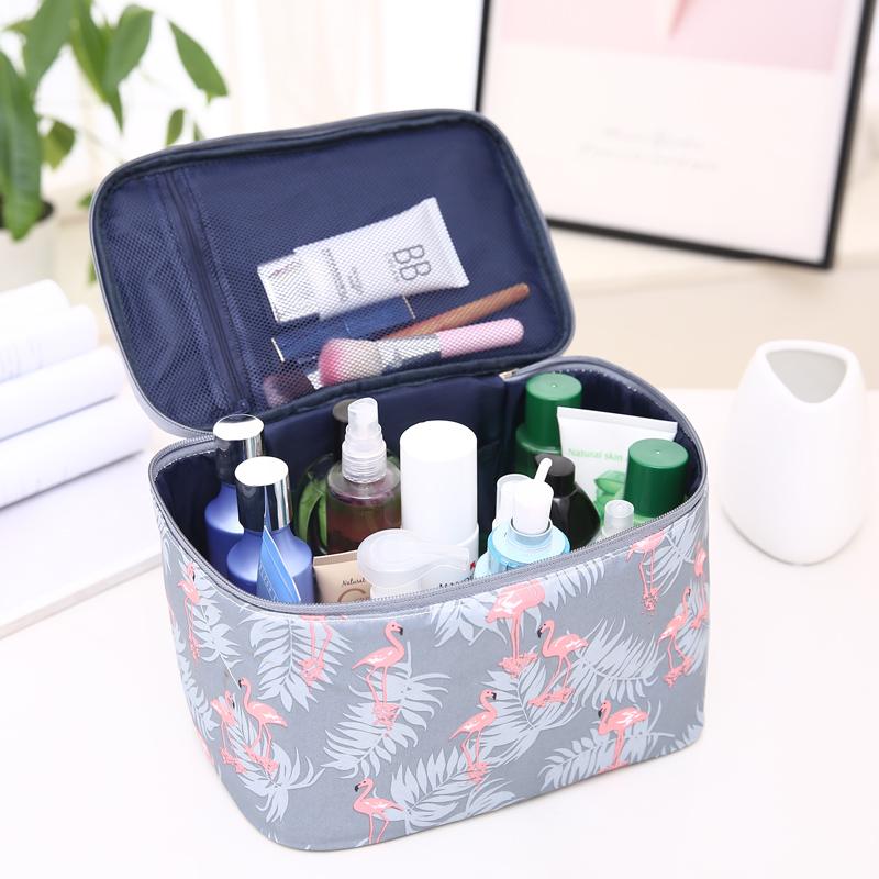 特大号化妆包便携容量收纳盒洗漱包