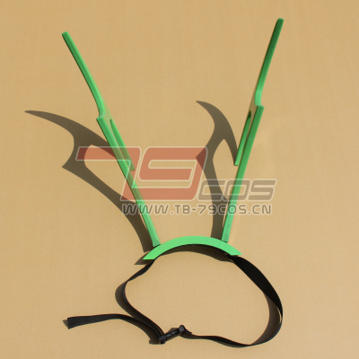 taobao agent Black Rock Shooter, Green Version, Birds Traveling Beautifully Wings COSPLAY Props Customized