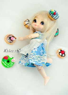 taobao agent 【Licht 2.5D】bjd baby with high temperature(Heat resistant)Silk wig-【C14】2 colors