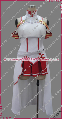 taobao agent Sacred Dragon 1129A cosplay costume Sword Art Online Asuna Revised Edition
