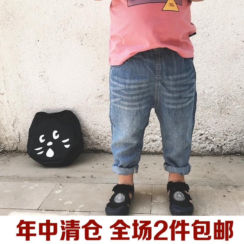 Trẻ em của mùa hè cao bồi quần muỗi, quần áo trẻ em, ngày của chàng trai, quần denim, trẻ em của bé quần mỏng