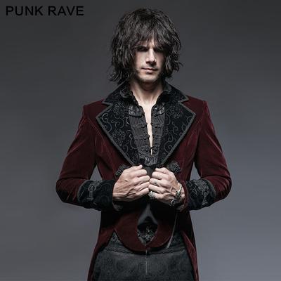 taobao agent *Gothic style, Medieval European men's clothing, court retro coat and dress, European classical style, gentleman's tuxedo