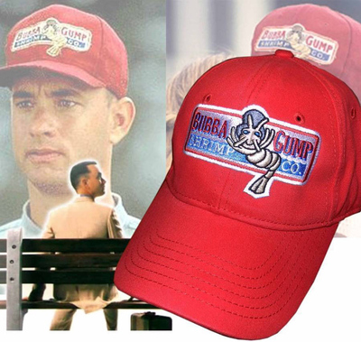 taobao agent Movie Peripheral Forrest Gump Shrimp Hat Forrest Gump The Same Hat Forrest Gump Classic Red Hat