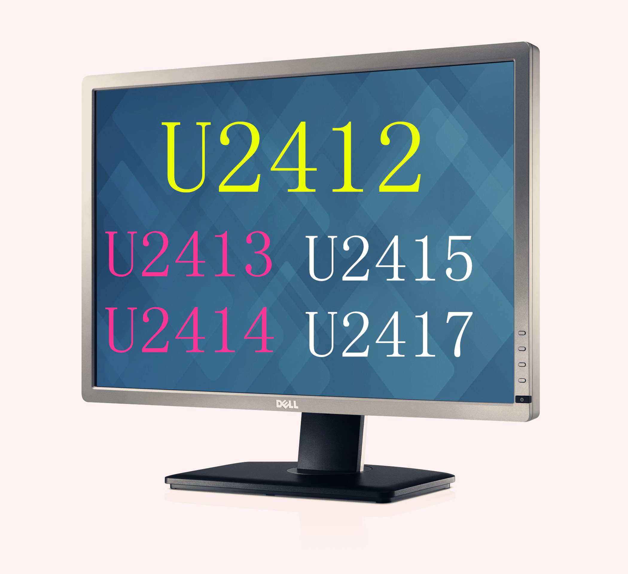 DELL Dell U2412 M studio repair picture DP HD 16 to 10 IPS face does not  hurt the eye U2415H