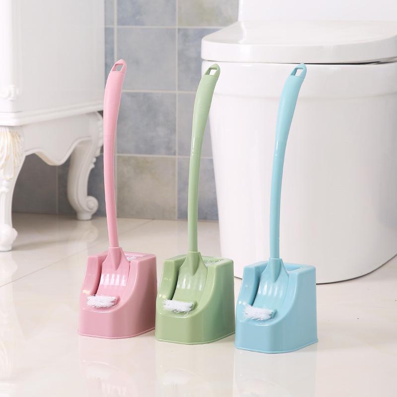 家用马桶刷套装卫生间带底座双面弯曲洗厕所刷子长柄清洁刷洁厕刷,免费领取3元淘宝优惠卷