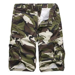 P55大量現貨eBay/亞馬遜爆款迷彩多袋工裝褲速賣通休閑5分短褲