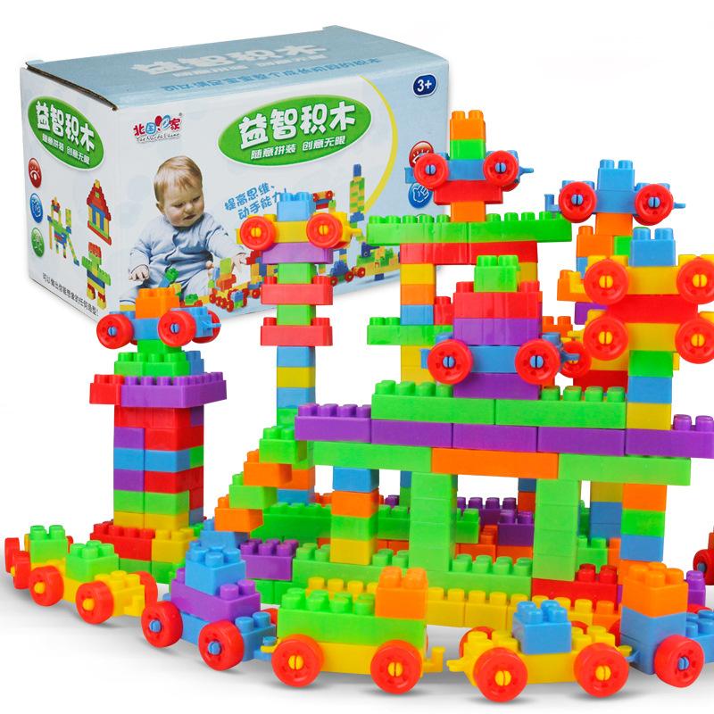 9.9 nhân dân tệ 72 hộp đồ chơi giáo dục cho trẻ em khối xây dựng đặc biệt mới 7 tuổi 9 tuổi 11 tuổi 6 tuổi 12 tuổi tùy chỉnh