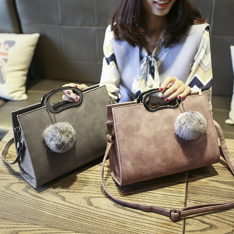 black leather hobo handbag