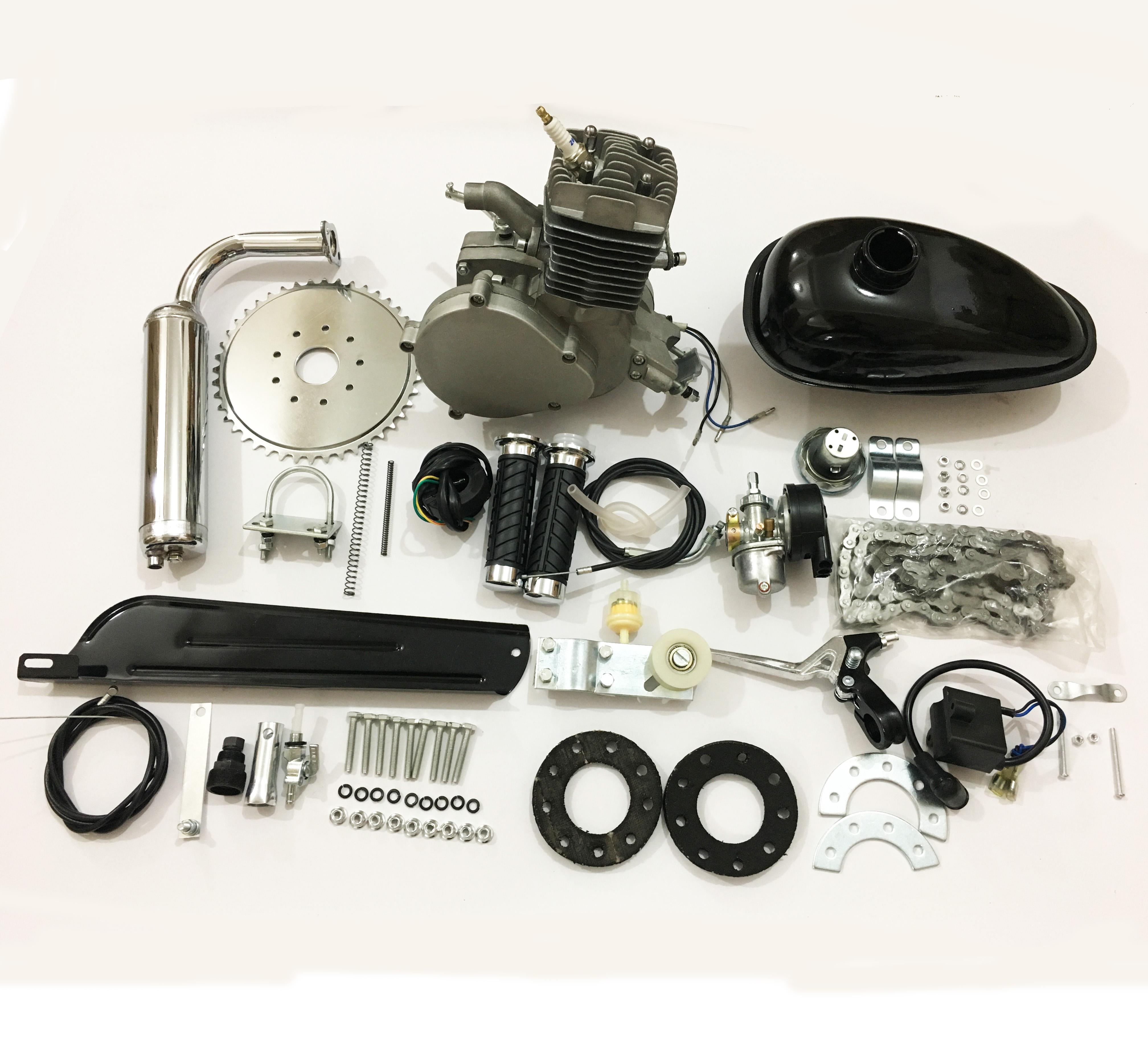 Hot bike modification 80CC engine bicycle gasoline engine kit